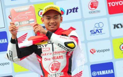 Rheza Danica Ahrens, Alumni SMA N 1 Cangkringan Juara Balap Motor Tingkat Asia
